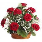 Rose in Basket Delivery To Cebu