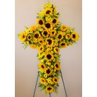 Send Sympathy Cross Arrangement in Cebu