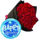 birthday-flower-with-balloon